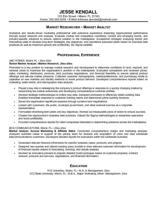 marketing manager resume objective best resume sample examples of ...