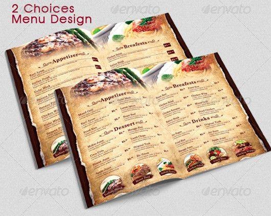 Restaurant Menu Templates & Graphic Designs