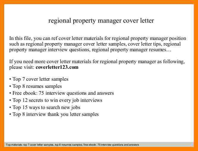 9+ property manager cover letter | packaging clerks