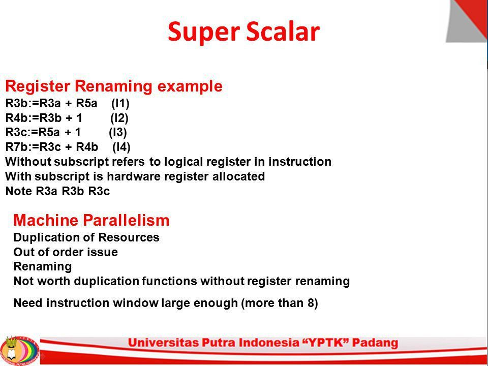 Arsitektur Komputer Pertemuan – 13 Super Scalar - ppt download