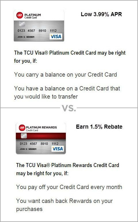 Teachers Credit Union - Personal - TCU Credit Cards