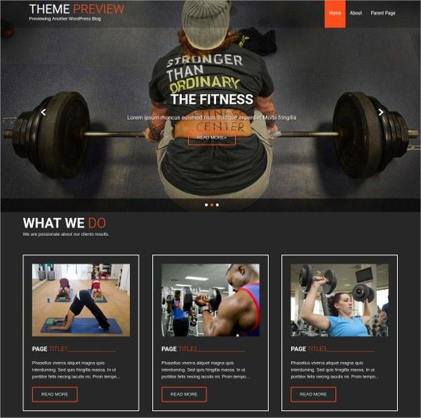 38+ Fitness WordPress Themes & Templates | Free & Premium Templates
