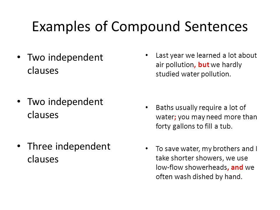 3.4 Independent and Subordinate Clauses - ppt download