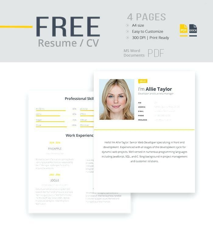 Resume Template For Microsoft Word – Okurgezer.co