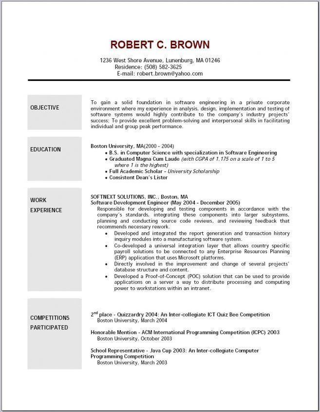 11 images how to make objectives in resume resume career