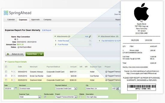 Quickbooks Expense Report, Expense Tracking Software