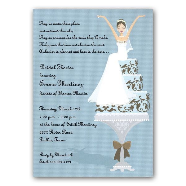 Wedding Shower Invitation | HASKOVO.ME