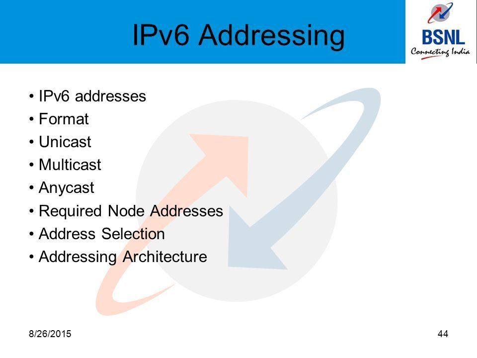 IPv6 Addressing. Agenda OSI & TCP/IP Model IPv4 Addressing IPv6 ...