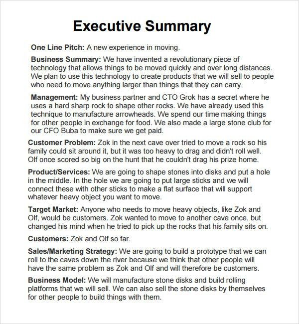 Resume Examples With Executive Summary | Create professional ...