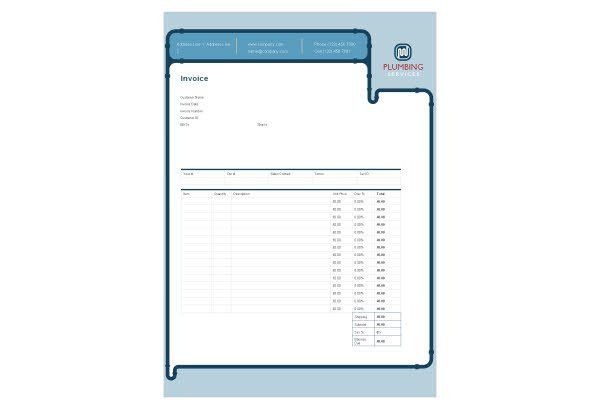 Sample Plumbing Invoices. Hvac Invoice Template Hvac Invoice .