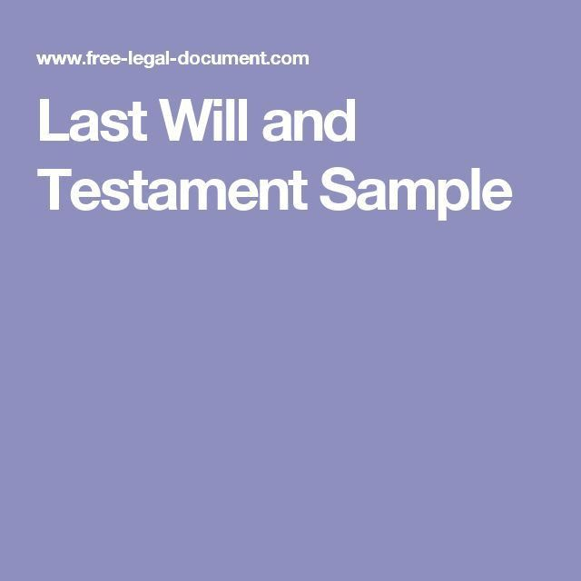 Best 25+ Will and testament ideas on Pinterest | Wills and trusts ...