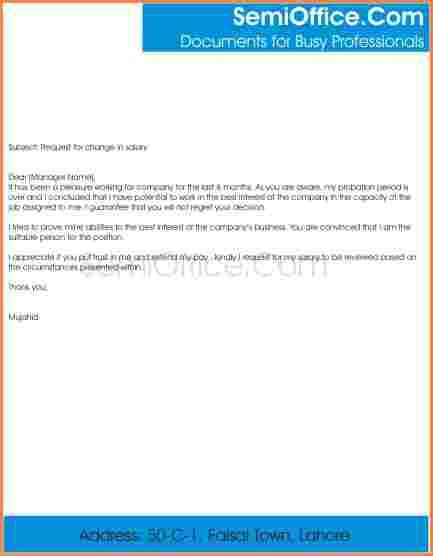 7+ salary hike request letter format | Sales Slip Template