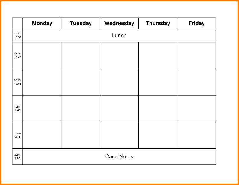 Week Work Schedule Template.weekly Work Schedule 101877322.png ...