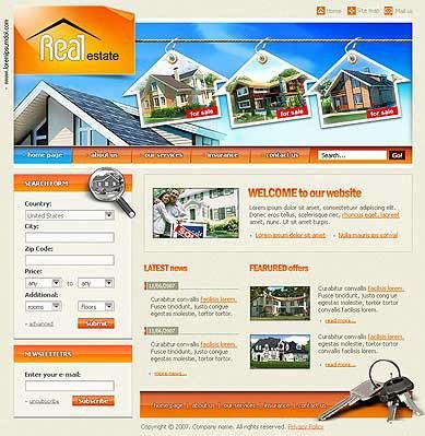 Real estate | Best Website Templates