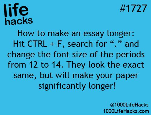 """find all the """"."""" periods and increase their font to 14. they look ..."""
