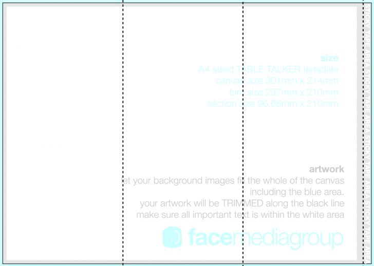 Inspirational Folding Brochure Template | pikpaknews