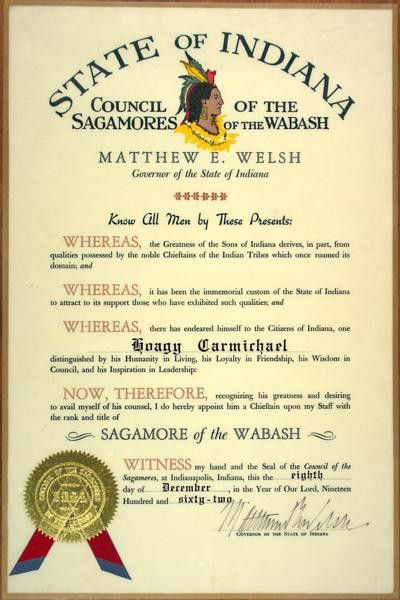 Sagamore of the Wabash