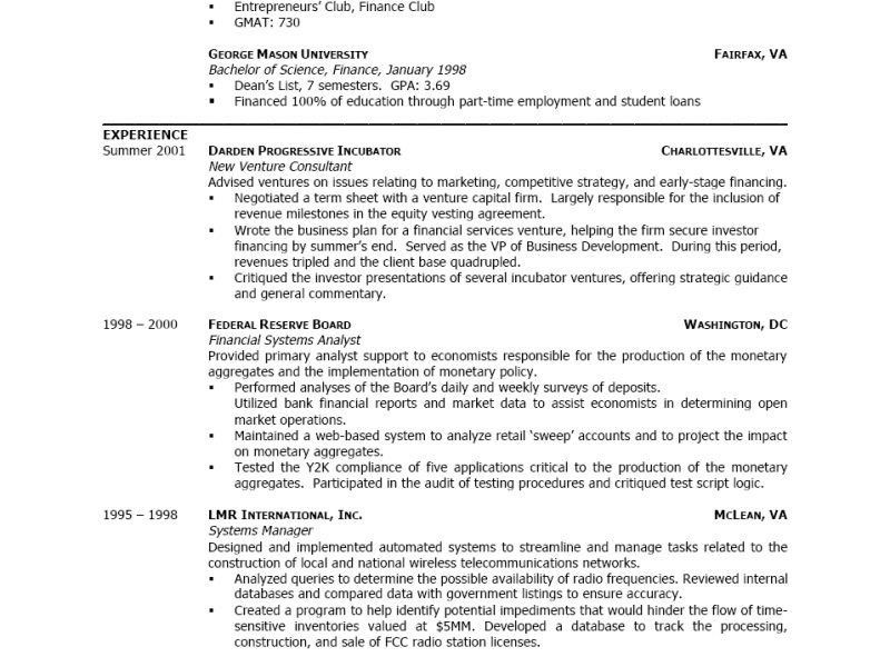 Example Of A Good Resume Format. Great Example Resume Edgar Resume ...