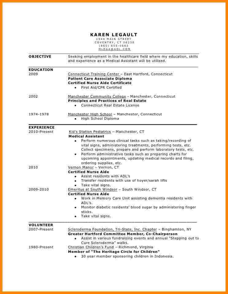 medical assistant resume 30d6451fc71b03e0adc362819baa3abe medical ...