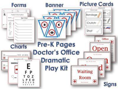 31 best Dramatic Play- Doctor's Office images on Pinterest ...