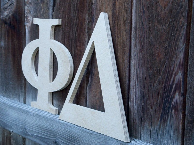 Craftcuts Outdoor Wood Letters | Garden Letters | Outside Home Letters