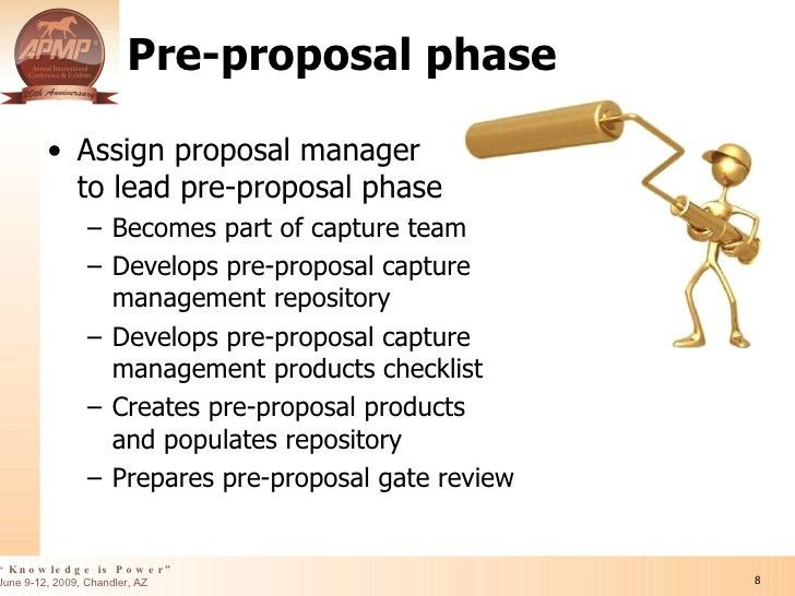 Integrating The Capture And Proposal Management Processes in Business…