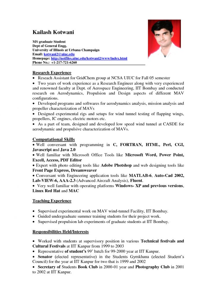 Capricious Sample Student Resume 11 Student Resume Samples No ...