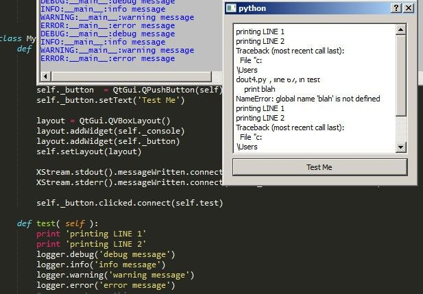 python - How to Redirect Logger Output into PyQt Text Widget ...