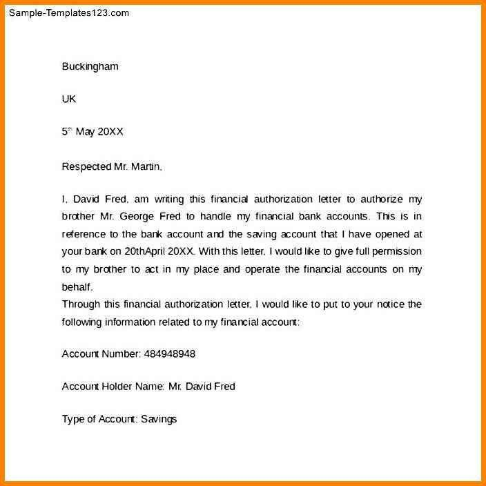 6+ Debit Authority Letter To Bank Format | Cashier Resumes