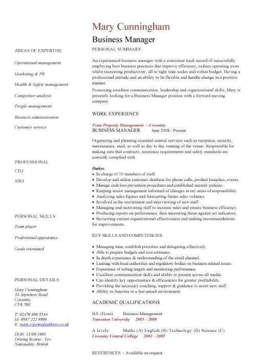 Resume Example For Business Owner. Resume. Ixiplay Free Resume Samples