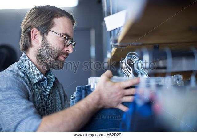 Retail Customer Salesperson Clothes Stock Photos & Retail Customer ...