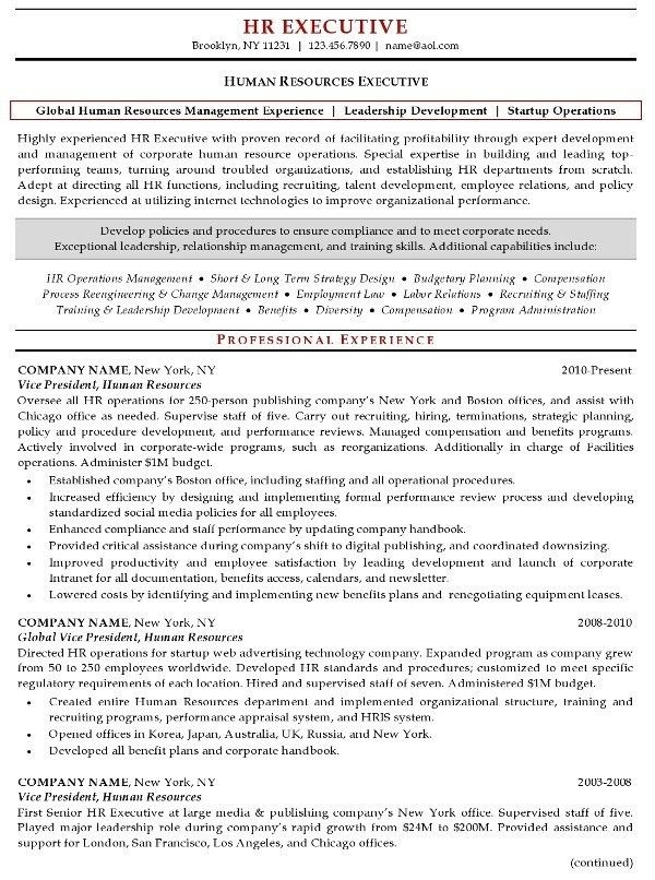 Recruiting Manager Resume Template. Hr Manager Resume Sample   The .