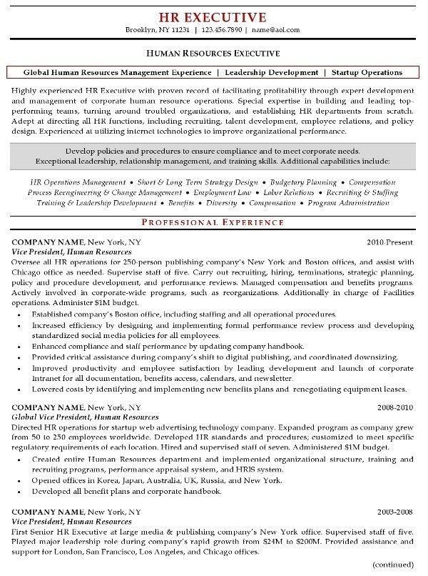 Recruiting Manager Resume Template. Senior Recruiter Resume Sample ...