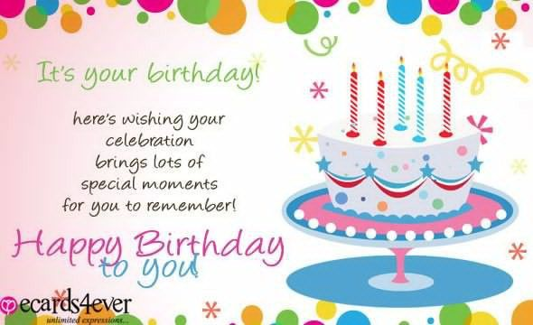 Card Invitation Design Ideas: Birthday Card Wishes Messages ...