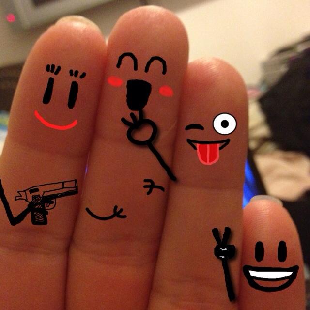 Friend Fingers My Wife