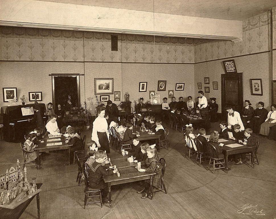 File:Student teachers Kindergarten 1898.jpg - Wikimedia Commons