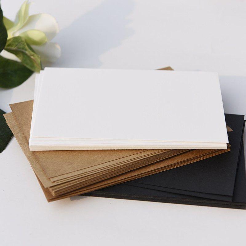 Aliexpress.com : Buy 20 Kraft Paper Blank Postcards diy business ...