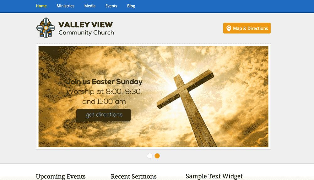 5+ Top Free Church Website Tempaltes - HTML & CSS - Templates.vip