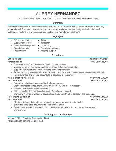 Download Example Of Modern Resume | haadyaooverbayresort.com
