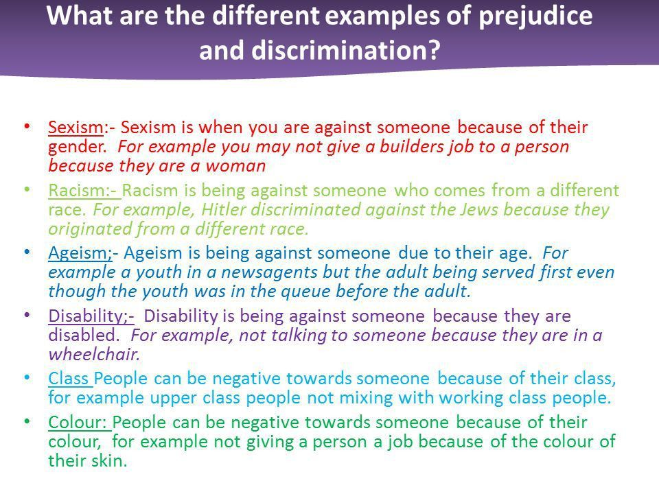 Prejudice and Persecution - ppt download