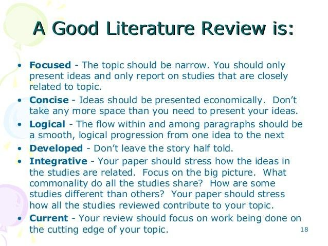 6 writing and presenting literature review-khalid