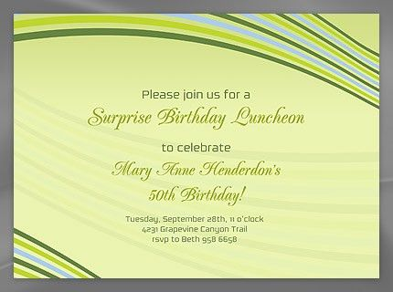 Free Business Invitation Templates - Musicalchairs.us