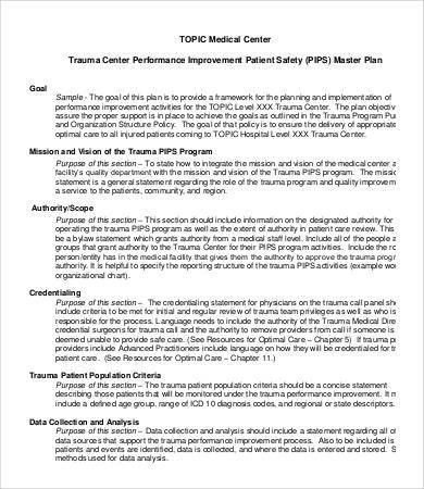 Performance Improvement Plan Template - 8+ Free Word, PDF ...