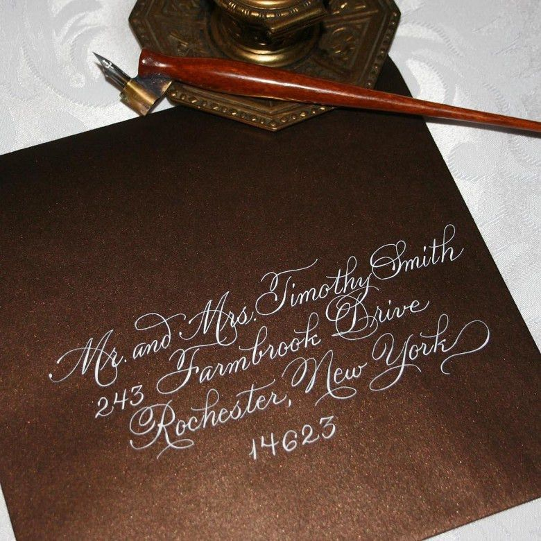 How to Address Your Wedding Invitation Envelopes - Uniquely Yours ...