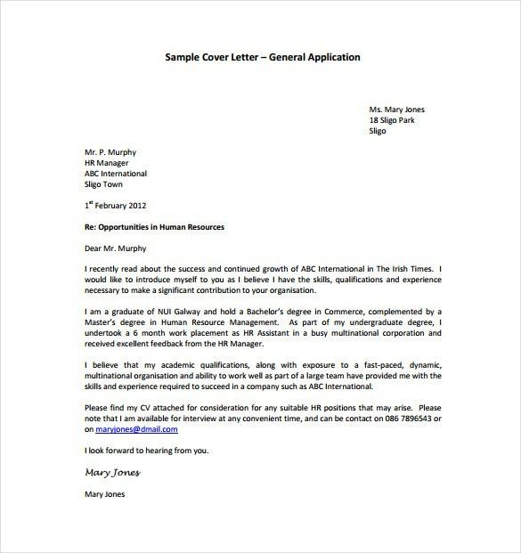 Download Word Template Cover Letter | haadyaooverbayresort.com