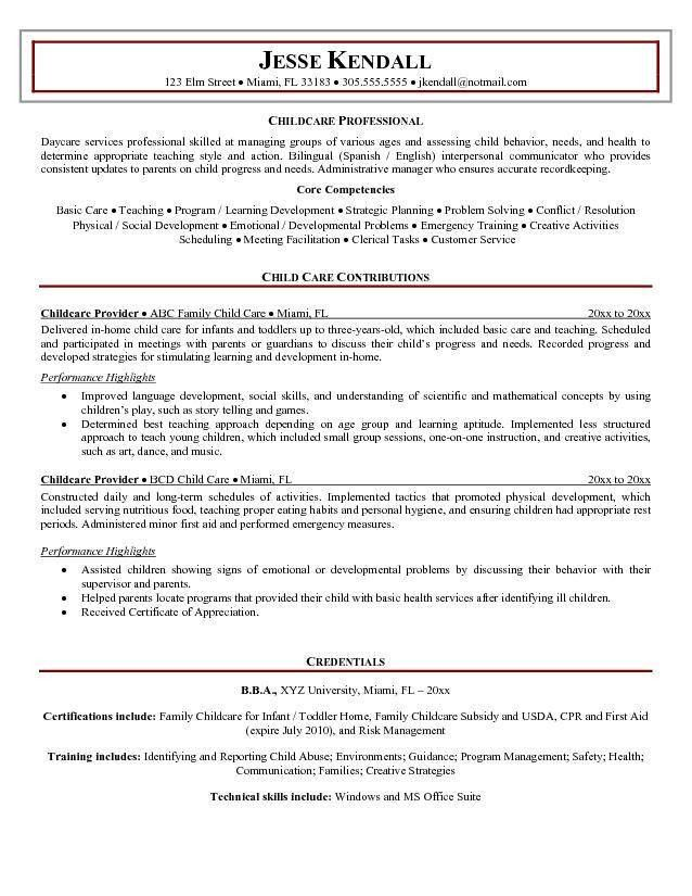 babysitting resume samples. babysitting resume samples. nanny ...