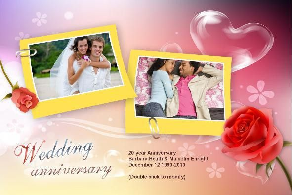 Wedding Anniversary Card (002) Wedding Anniversery [] - $2.90 ...