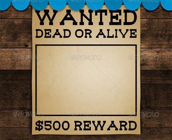 Wanted Poster Template Powerpoint - Casseh.info