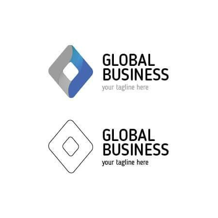 Buy Modern Business Abstract Global Logo Template for $10!