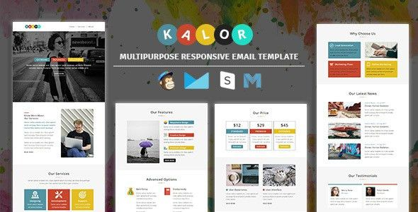 Kalor - Multipurpose Responsive Email Template by guiwidgets ...